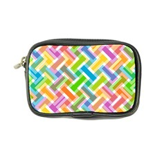 Abstract Pattern Colorful Wallpaper Background Coin Purse