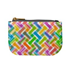 Abstract Pattern Colorful Wallpaper Background Mini Coin Purses