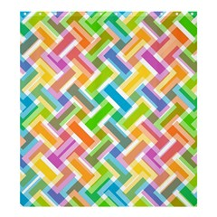Abstract Pattern Colorful Wallpaper Background Shower Curtain 66  x 72  (Large)