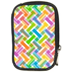 Abstract Pattern Colorful Wallpaper Background Compact Camera Cases