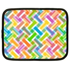 Abstract Pattern Colorful Wallpaper Background Netbook Case (XXL)