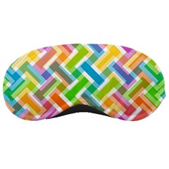 Abstract Pattern Colorful Wallpaper Background Sleeping Masks