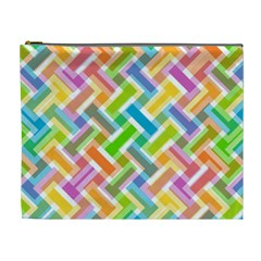 Abstract Pattern Colorful Wallpaper Background Cosmetic Bag (XL)