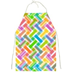 Abstract Pattern Colorful Wallpaper Background Full Print Aprons