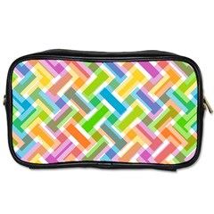 Abstract Pattern Colorful Wallpaper Background Toiletries Bags 2-Side