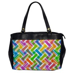 Abstract Pattern Colorful Wallpaper Background Office Handbags
