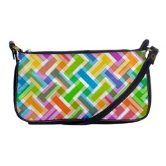 Abstract Pattern Colorful Wallpaper Background Shoulder Clutch Bags