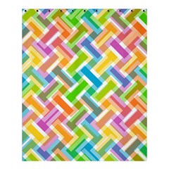Abstract Pattern Colorful Wallpaper Background Shower Curtain 60  x 72  (Medium)