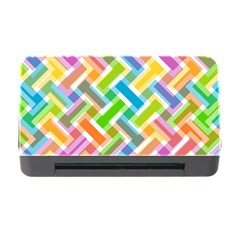 Abstract Pattern Colorful Wallpaper Background Memory Card Reader with CF
