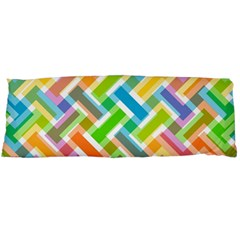 Abstract Pattern Colorful Wallpaper Background Body Pillow Case (Dakimakura)