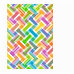 Abstract Pattern Colorful Wallpaper Background Large Garden Flag (Two Sides)