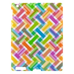 Abstract Pattern Colorful Wallpaper Background Apple iPad 3/4 Hardshell Case