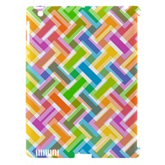 Abstract Pattern Colorful Wallpaper Background Apple iPad 3/4 Hardshell Case (Compatible with Smart Cover)