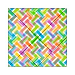 Abstract Pattern Colorful Wallpaper Background Acrylic Tangram Puzzle (6  X 6 ) by Simbadda