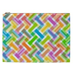 Abstract Pattern Colorful Wallpaper Background Cosmetic Bag (XXL)