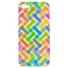 Abstract Pattern Colorful Wallpaper Background Apple iPhone 5 Hardshell Case