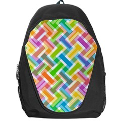 Abstract Pattern Colorful Wallpaper Background Backpack Bag