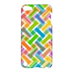 Abstract Pattern Colorful Wallpaper Background Apple iPod Touch 5 Hardshell Case
