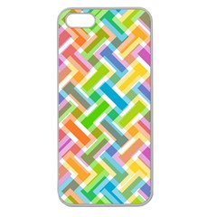 Abstract Pattern Colorful Wallpaper Background Apple Seamless iPhone 5 Case (Clear)