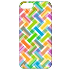 Abstract Pattern Colorful Wallpaper Background Apple iPhone 5 Classic Hardshell Case