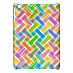 Abstract Pattern Colorful Wallpaper Background Apple iPad Mini Hardshell Case