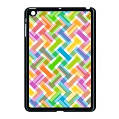 Abstract Pattern Colorful Wallpaper Background Apple Ipad Mini Case (black) by Simbadda