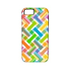Abstract Pattern Colorful Wallpaper Background Apple iPhone 5 Classic Hardshell Case (PC+Silicone)