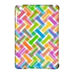 Abstract Pattern Colorful Wallpaper Background Apple iPad Mini Hardshell Case (Compatible with Smart Cover)