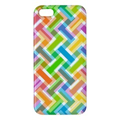 Abstract Pattern Colorful Wallpaper Background Apple iPhone 5 Premium Hardshell Case