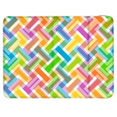 Abstract Pattern Colorful Wallpaper Background Samsung Galaxy Tab 7  P1000 Flip Case