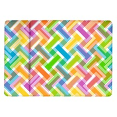 Abstract Pattern Colorful Wallpaper Background Samsung Galaxy Tab 10.1  P7500 Flip Case