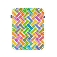 Abstract Pattern Colorful Wallpaper Background Apple iPad 2/3/4 Protective Soft Cases