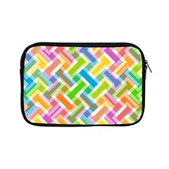 Abstract Pattern Colorful Wallpaper Background Apple iPad Mini Zipper Cases