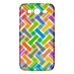 Abstract Pattern Colorful Wallpaper Background Samsung Galaxy Mega 5.8 I9152 Hardshell Case