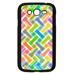 Abstract Pattern Colorful Wallpaper Background Samsung Galaxy Grand DUOS I9082 Case (Black)