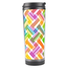 Abstract Pattern Colorful Wallpaper Background Travel Tumbler
