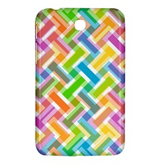 Abstract Pattern Colorful Wallpaper Background Samsung Galaxy Tab 3 (7 ) P3200 Hardshell Case  by Simbadda