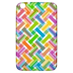 Abstract Pattern Colorful Wallpaper Background Samsung Galaxy Tab 3 (8 ) T3100 Hardshell Case
