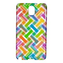 Abstract Pattern Colorful Wallpaper Background Samsung Galaxy Note 3 N9005 Hardshell Case