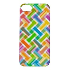 Abstract Pattern Colorful Wallpaper Background Apple iPhone 5S/ SE Hardshell Case