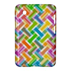 Abstract Pattern Colorful Wallpaper Background Samsung Galaxy Tab 2 (7 ) P3100 Hardshell Case