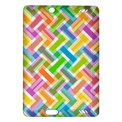Abstract Pattern Colorful Wallpaper Background Amazon Kindle Fire HD (2013) Hardshell Case