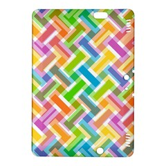 Abstract Pattern Colorful Wallpaper Background Kindle Fire HDX 8.9  Hardshell Case