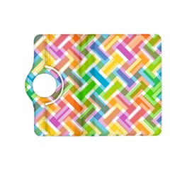 Abstract Pattern Colorful Wallpaper Background Kindle Fire HD (2013) Flip 360 Case