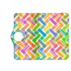 Abstract Pattern Colorful Wallpaper Background Kindle Fire HDX 8.9  Flip 360 Case