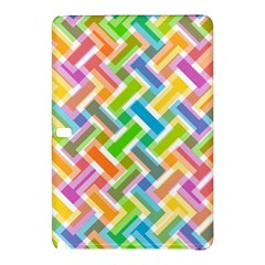 Abstract Pattern Colorful Wallpaper Background Samsung Galaxy Tab Pro 10.1 Hardshell Case