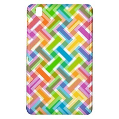 Abstract Pattern Colorful Wallpaper Background Samsung Galaxy Tab Pro 8.4 Hardshell Case