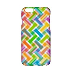 Abstract Pattern Colorful Wallpaper Background Apple iPhone 6/6S Hardshell Case