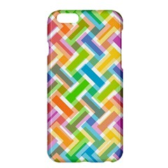 Abstract Pattern Colorful Wallpaper Background Apple iPhone 6 Plus/6S Plus Hardshell Case
