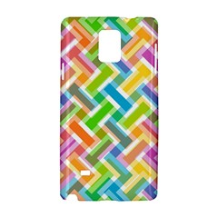 Abstract Pattern Colorful Wallpaper Background Samsung Galaxy Note 4 Hardshell Case